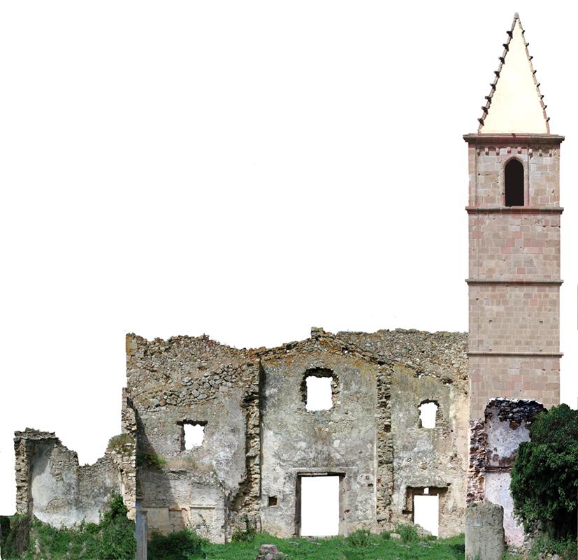Torre Aragonese - facciata interna esterno sacrestia