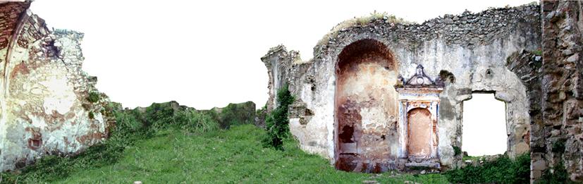 Torre Aragonese - Facciata interna vista Sud