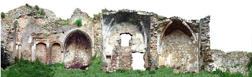 Torre Aragonese - Abside vista Sud