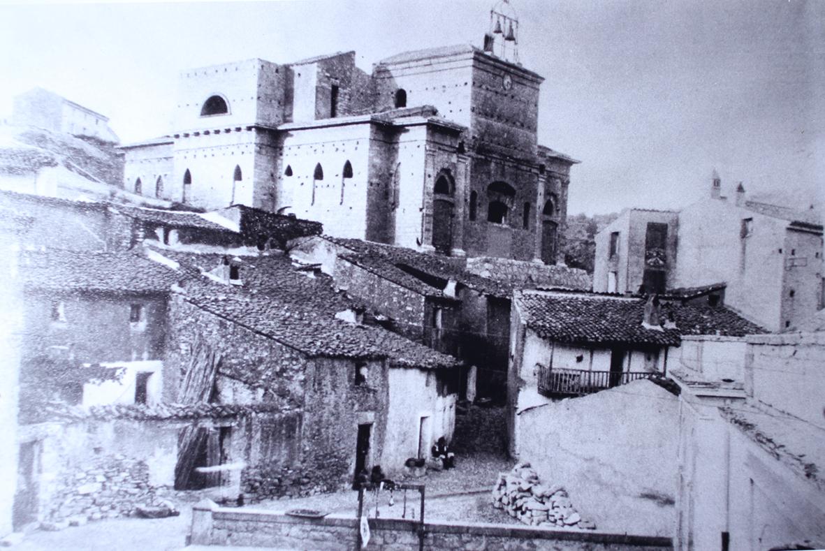 Chiesa di Sant'Andrea - Esterni in costruzione