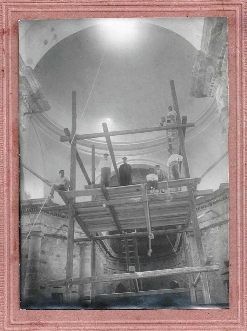 Chiesa di Sant'Andrea - Interni in costruzione