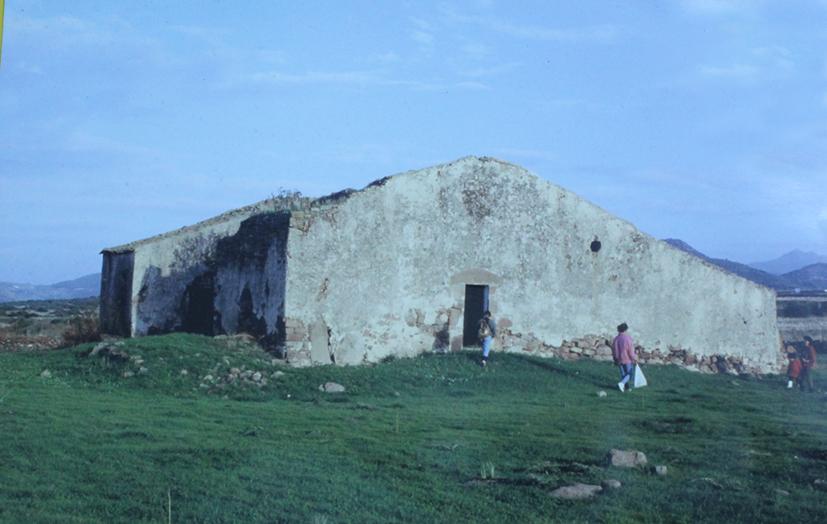 La chiesa di N.S. di Liscoi prima del restauro