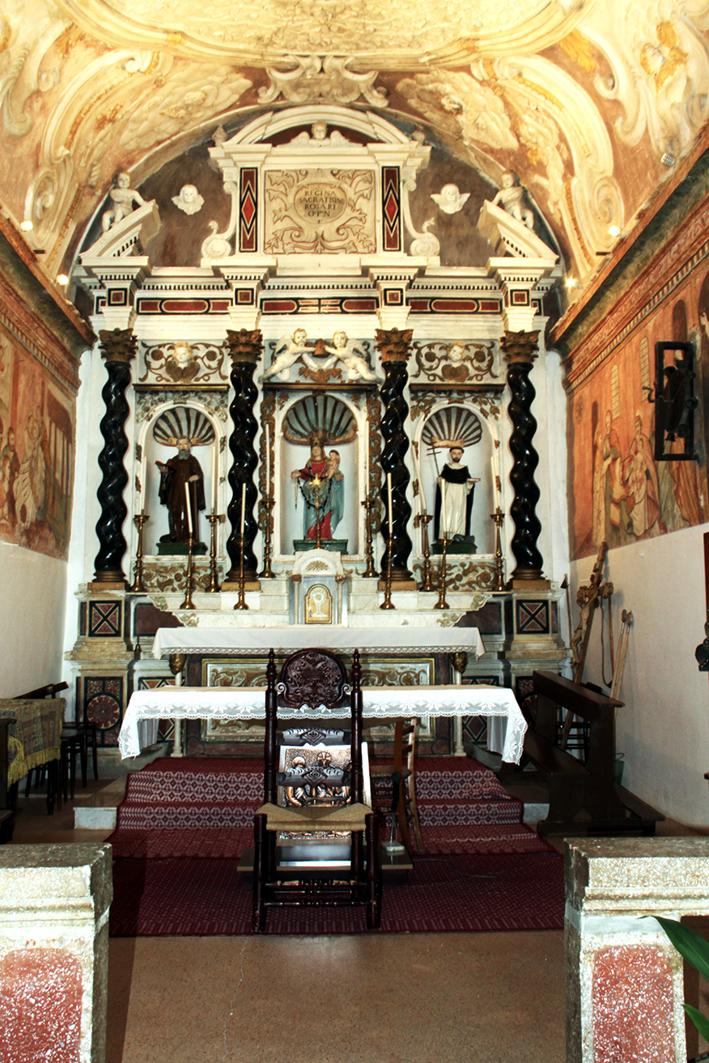 Chiesa di Su Rosariu - Interni
